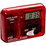 Sper Scientific 810040 Compact Visual and Audible Alarm Timer