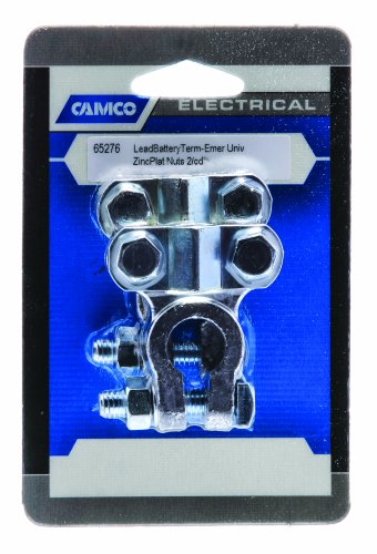 Camco 65276 Universal Emergency Lead Battery Terminal