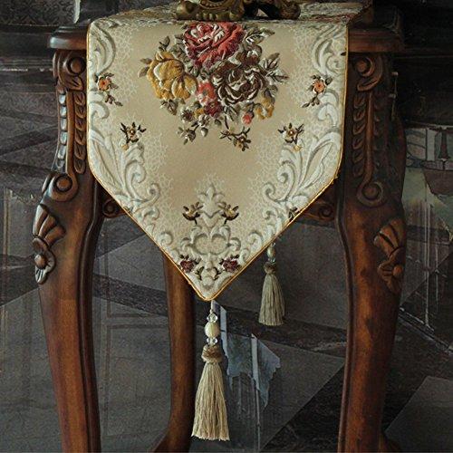 Drapeau américain/Style européen vin armoire nappe/ drapeau/ drapeau/ Gabe/ décoratives/ table/ table-G 35x240cm(14x94inch)