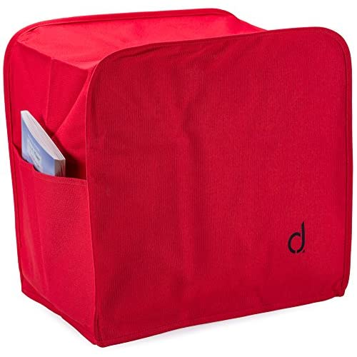 Andrew James Red Premium Food Mixer Dust Cover - Suitable for all All Kenwood Chef and Andrew James Food Mixers...
