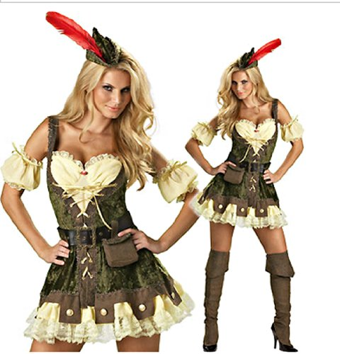 Cosplay Swashbuckler Pirate Adult Halloween Costume One Size Dress UMC29