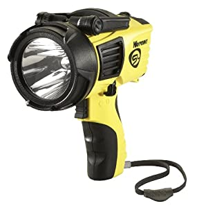 Streamlight 44910 Waypoint Spotlight with 120-volt AC Charger, Yellow