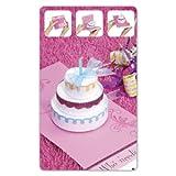Sizzix Bigz XL BIGkick/Big Shot Die-Three Tier Cake 3-D Card Pop-Up