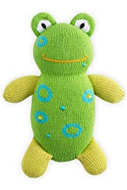 Joobles Organic Stuffed Animal - Flop the Frog