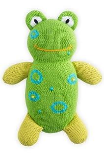 Joobles Organic Stuffed Animal - Flop the Frog