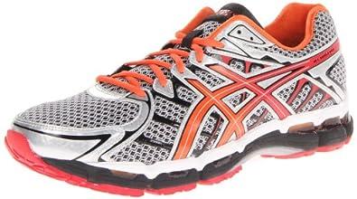 ASICS Men's Gel Surveyor 2 Running Shoe,Iron/Black/Red,6 M US