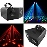 PMS® Disco Lichteffekt Doppelter LED Dual-Moonflower DJ Party Projektor