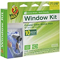 Duck Brand 10-Window Shrink Film Insulator Kit