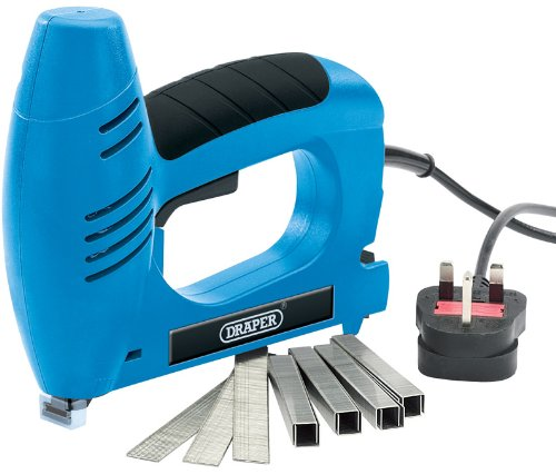 Draper 23051 230V 6-16mm Electric Stapler Staples/ Nails
