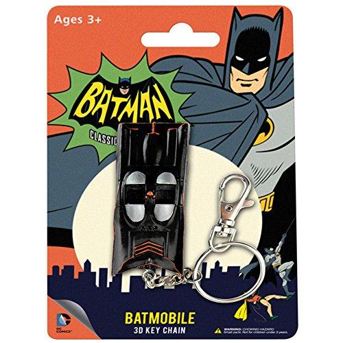 "DC Comics Batmobile Bendable Key chain 3"" Figure Superhero Villain Gift RM2739"