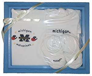 Michigan Wolverines Gift Set by Crawlstars