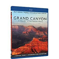 National Parks Exploration Series - The Grand Canyon: A Wonder of the Natural World - Blu-ray
