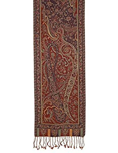 Neck Scarf Men Accessories Wool Paisley Design Indian Clothing Gifts For Husband