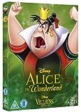 Alice In Wonderland [Blu-ray] Disney Villains O-Ring Slipcover Edition UK Import (Region Free) Disney Classics #13