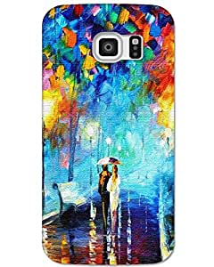 Samsung galaxy S6 edge back cover Designer High Quality Premium Matte Finish 3D Case