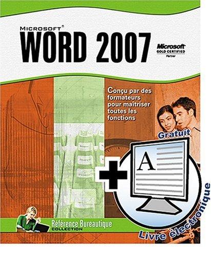 Telecharger des livres gratuit word 2007 - Telechargement de office word 2007 gratuit ...