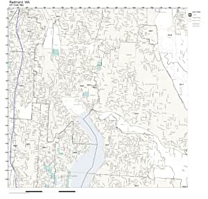 Redmond Wa Zip Code Map.Redmond Washington Zip Code