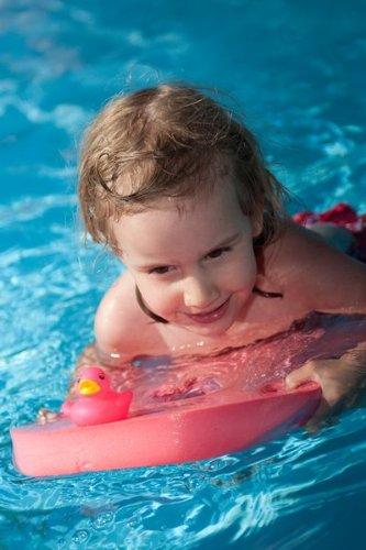 Schwimmbrett Klassik 48x30x38 Baby, Kinder, Erwachsene ROT