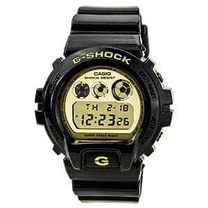 G-Shock DW-6900 Garish Trending Series Men's Stylish Watch - Black / One Size