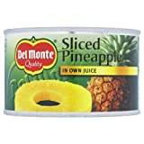 Del Monte Quality Sliced Pineapple in Own Juice 12 x 220g