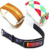 Replacement Band For Samsung Galaxy Gear Fit Gear Fit Band Flower-003 3PCS-03