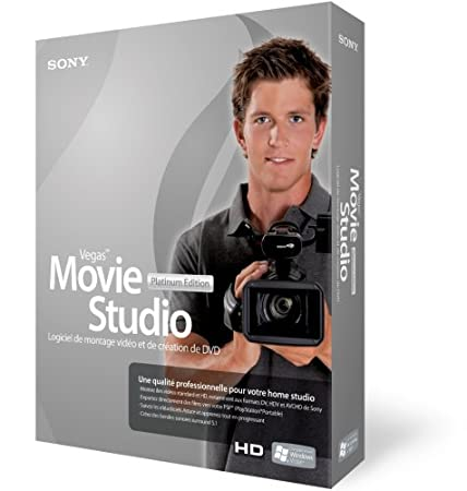 Sony Vegas Movie Studio + DVD 8 Platinum