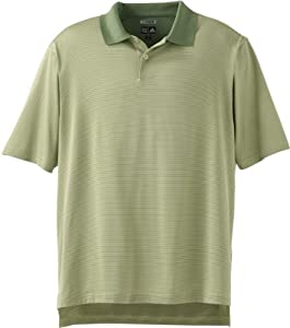 Adidas Golf A19 ClimaCool Mens Classic Stripe Jersey Polo - Cactus/Grass - Small