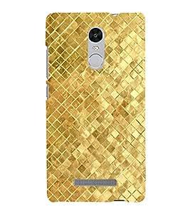 EPICCASE Golden Pattern Mobile Back Case Cover For Xiaomi Redmi Note 3 (Designer Case)