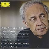"Szymanowski: Symphony No.3 ""Song of the Night"", Violin Concerto No.1"