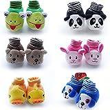#2: HOME CUBE Born Baby Fancy Cartoon Face Socks cum Shoes ( Random Design / Color ) Set Of 1 Pair