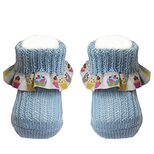 bianchi-sockmaker-in-italy-since-1932-booties-newborn-with-ribbon-light-blue