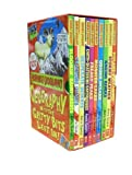 Anita Ganeri Horrible Geography Collection 10 Books Box Gift Set Pack by Anita Ganeri RRP: £59.90 (Bloomin Rainforests, Cracking Coasts, Desperate Deserts, Earth-Shattering Earthquakes, Freaky Peaks, Monster Lakes, Odious Oceans, Raging Rivers, Stormy W
