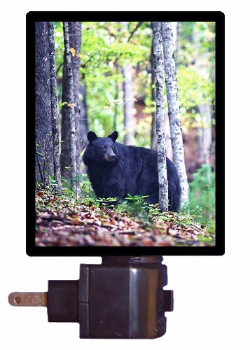 Wildlife Night Light - Black Bear Led Night Light
