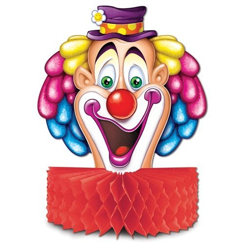 CLOWN CENTERPIECE (1 per package)