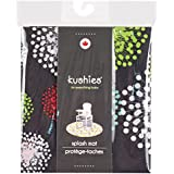 Kushies Baby Splash Mat, Mod Black (Discontinued by Manufacturer)