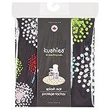 Kushies Baby Splash Mat, Mod Black