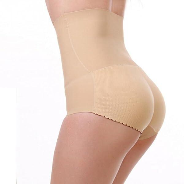 Zarbrina Sexy Lady Enhancer Shaper Panties Seamless Butt Lift Briefs Fake  Ass Hip up Padded Lingerie ...