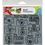 Crafters Workshop Crafter's Workshop Template, 6 by 6-Inch, Picture Perfect