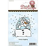 Little Darlings Unmounted Rubber Stamp-Frosty's Giggling