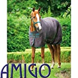 AMIGO STABLE SHEET - ADVANCED MOISTURE MANAGEMENT (FIG/NAVY/LILAC, 6'9
