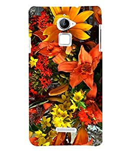 Bright Flowers 3D Hard Polycarbonate Designer Back Case Cover for Coolpad Note 3 Lite :: Coolpad Note 3 Lite Dual SIM