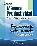 img - for M xima productividad - recupera tu vida usando microsoft outlook (Spanish Edition) book / textbook / text book