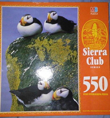 Sierra Club Series 550 Fully Interlocking Pieces Redwood National Park, CA by Milton Bradley - 1