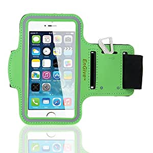 EnGive Anti-slip Sports Armband for iPhone 6 4.7 inch Size (Green)
