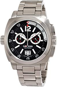 Golana Swiss Men'S Ae400-2 Aero Pro 400 Stainless Steel Watch