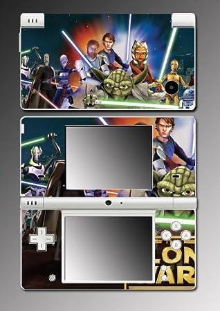 Star Wars Clone Jedi Game Vinyl Decal Skin Protector Cover 12 for Nintendo DSi