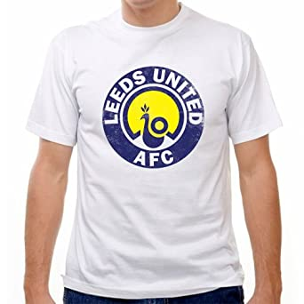 Leeds united vintage crest soccer t shirt at amazon men s for Soccer girl problems t shirts