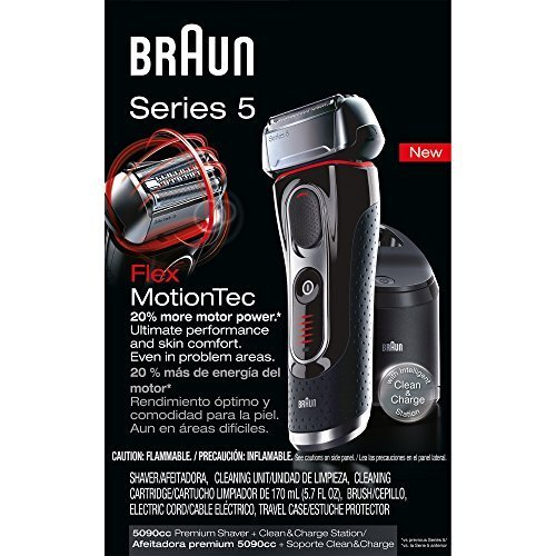 Braun Series 5 5090cc Electric Shaver With Cleaning Center 1 Count by...