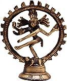 Shopnetix Brass Natraj Showpiece Figurine