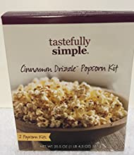 Tastefully Simple Cinnamon Drizzle Popcorn Kit